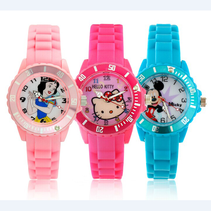 Silicone mini watch NT6330S